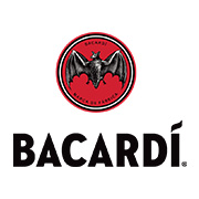 smaller bacardi logo by redpill influencer marketing agency london
