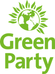 red pill video production london work portfolio green party logo 180px