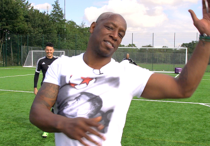 Hot Shots with Ian Wright and F2Freestylers