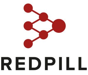 red pill video production london logo clean