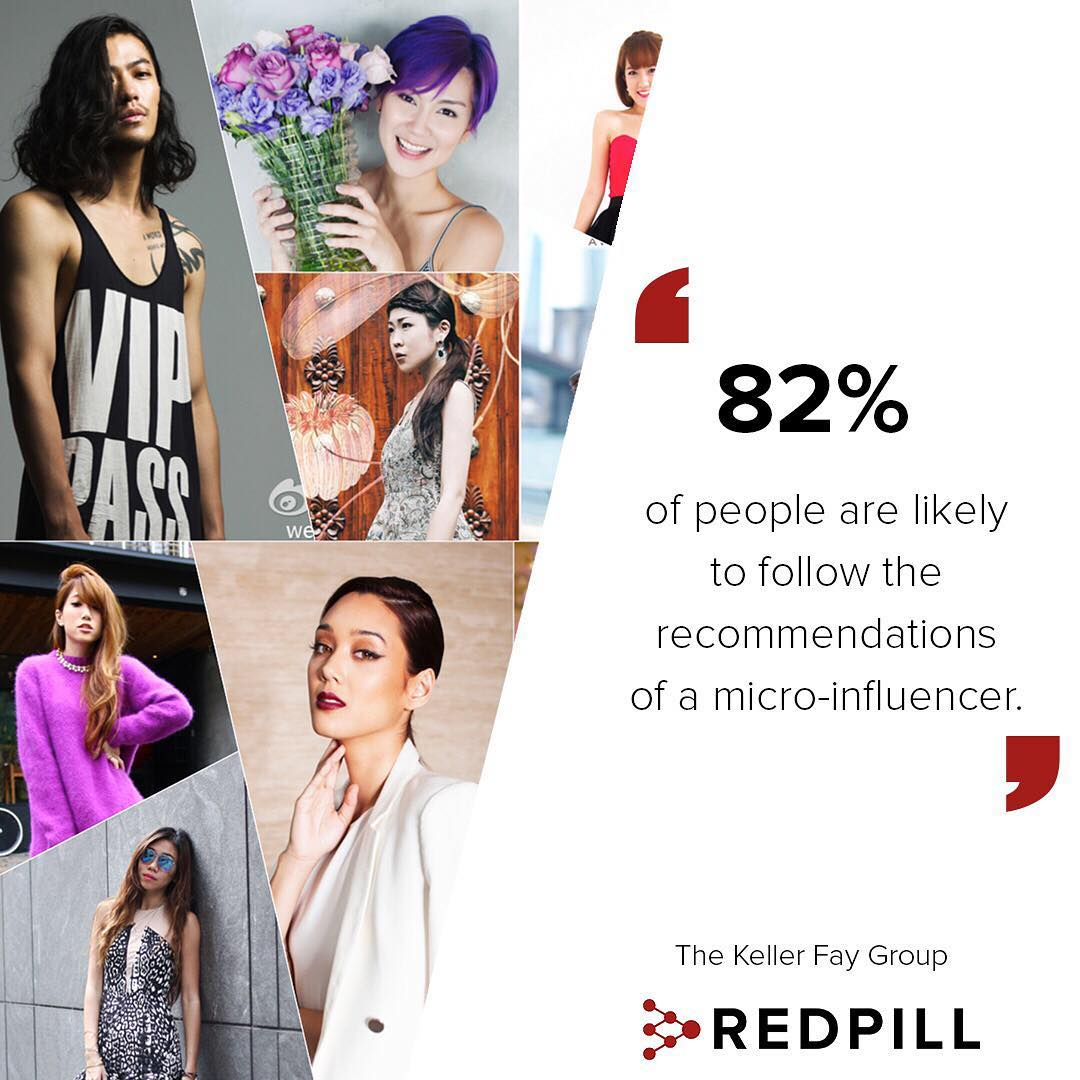 Never under estimate the microinfluencer! microinfluencer REDstats influencermarketing brandtips socialmediahellip