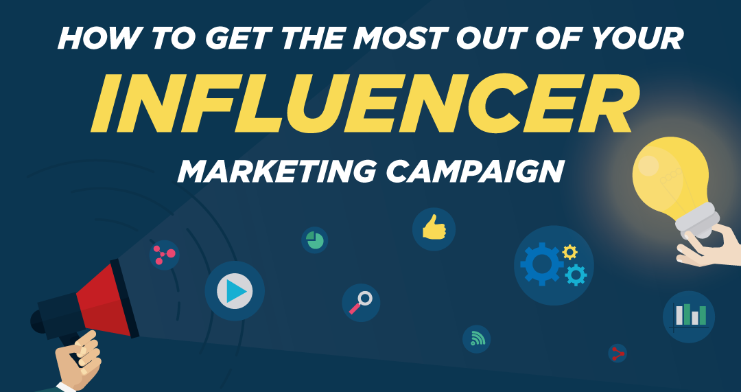 #Infographic How To Get The Most Out Of Your Influencer Marketing Campaign