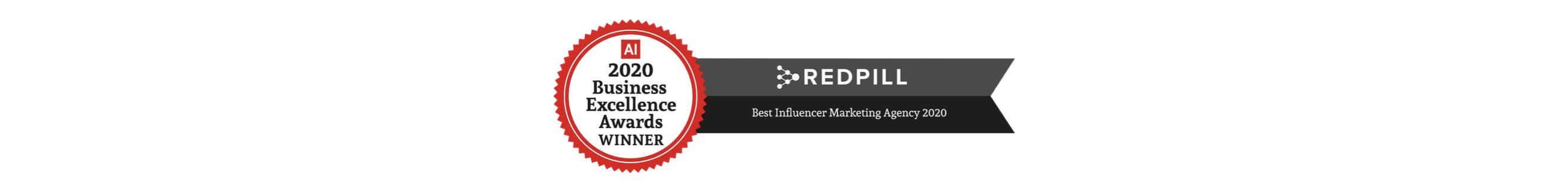 REDPILL Best Influencer Marketing Agency 2020
